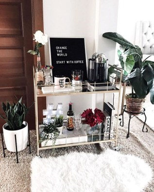 Elegant Mini Bar Design Ideas That You Can Try On Home 51
