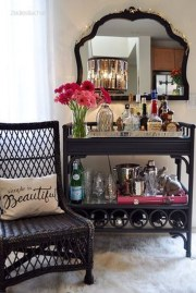 Elegant Mini Bar Design Ideas That You Can Try On Home 54