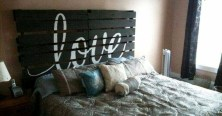 Fancy Diy Ideas To Make Bed Place From Pallet Project 03