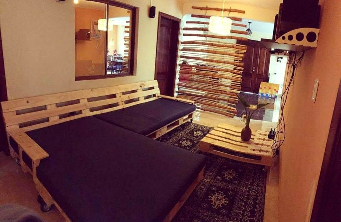 Fancy Diy Ideas To Make Bed Place From Pallet Project 23