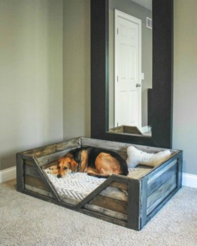Fancy Diy Ideas To Make Bed Place From Pallet Project 39