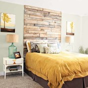 Fancy Diy Ideas To Make Bed Place From Pallet Project 43