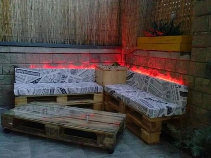 Fancy Diy Ideas To Make Bed Place From Pallet Project 46