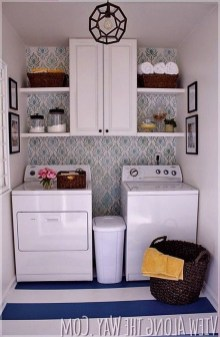 Fascinating Small Laundry Room Design Ideas 10