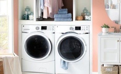 Fascinating Small Laundry Room Design Ideas 37