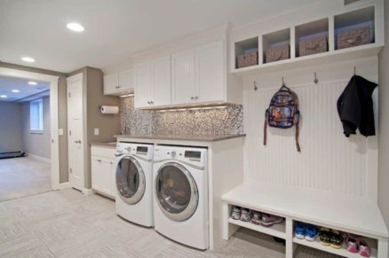 Fascinating Small Laundry Room Design Ideas 56