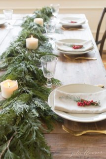 Hottest Christmas Table Decorating Ideas For You 19