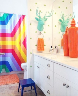 Incredible Bathroom Design Ideas For Summer 41