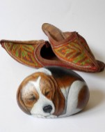 Magnificient Diy Painted Rocks Ideas With Animals Dogs For Summer 04