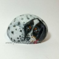 Magnificient Diy Painted Rocks Ideas With Animals Dogs For Summer 13