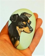 Magnificient Diy Painted Rocks Ideas With Animals Dogs For Summer 16