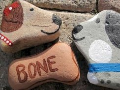 Magnificient Diy Painted Rocks Ideas With Animals Dogs For Summer 28