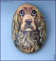 Magnificient Diy Painted Rocks Ideas With Animals Dogs For Summer 34