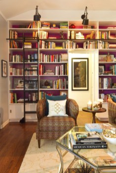 Magnificient Home Design Ideas With Library You Should Keep 32