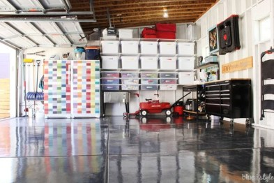 Pretty Garage Floor Design Ideas That You Can Try In Your Home 47