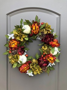 Pretty Summer Wreath Decor Ideas For Front Door 44