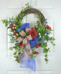 Pretty Summer Wreath Decor Ideas For Front Door 45