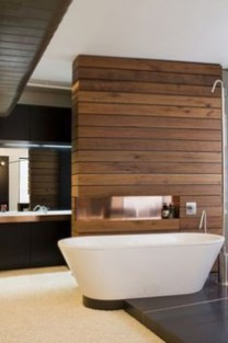 Rustic Bathroom Design Ideas With Wood For Home 18
