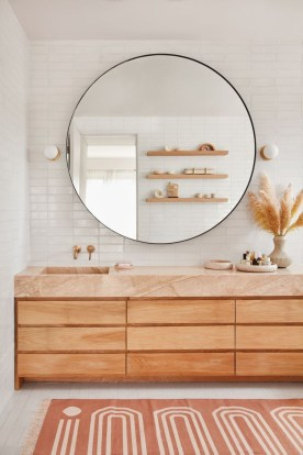 Rustic Bathroom Design Ideas With Wood For Home 35