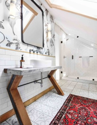 Rustic Bathroom Design Ideas With Wood For Home 38