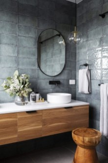 Rustic Bathroom Design Ideas With Wood For Home 46
