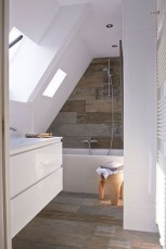 Rustic Bathroom Design Ideas With Wood For Home 49