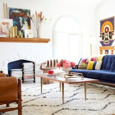 Stylish Colorful Apartment Decor Ideas For Summer 01