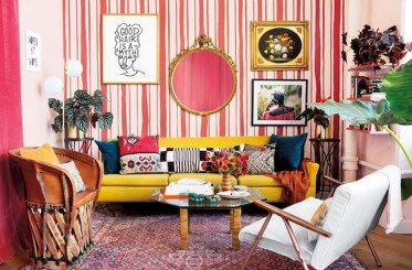 Stylish Colorful Apartment Decor Ideas For Summer 11