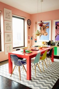 Stylish Colorful Apartment Decor Ideas For Summer 43