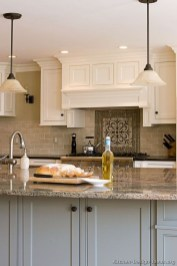 Unique Painted Kitchen Cabinets Design Ideas With Two Tone 13