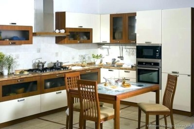 Unique Painted Kitchen Cabinets Design Ideas With Two Tone 14