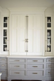 Unique Painted Kitchen Cabinets Design Ideas With Two Tone 25