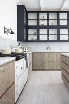 Unique Painted Kitchen Cabinets Design Ideas With Two Tone 36
