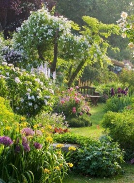 Attractive Border Garden Ideas To Your Landscaping Edging 38