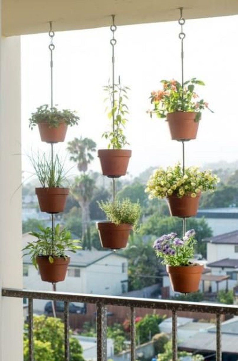 Cool Apartment Balcony Design Ideas For Small Space 08