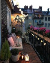 Cool Apartment Balcony Design Ideas For Small Space 23