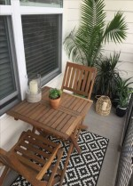Cool Apartment Balcony Design Ideas For Small Space 24