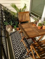 Cool Apartment Balcony Design Ideas For Small Space 25