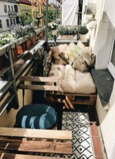 Cool Apartment Balcony Design Ideas For Small Space 49