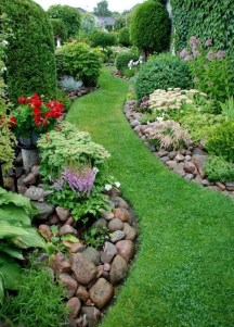 Cozy Rock Garden Landscaping Ideas For Make Your Yard Beautiful 14