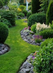 Cozy Rock Garden Landscaping Ideas For Make Your Yard Beautiful 19