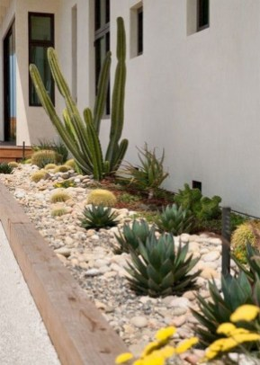Cozy Rock Garden Landscaping Ideas For Make Your Yard Beautiful 41