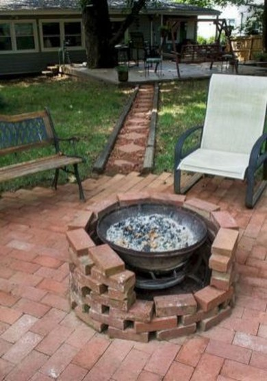 Modern Diy Firepit Ideas For Your Yard This Year 10