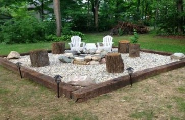 Modern Diy Firepit Ideas For Your Yard This Year 20