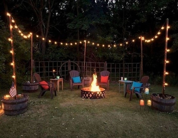 Modern Diy Firepit Ideas For Your Yard This Year 26
