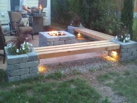 Modern Diy Firepit Ideas For Your Yard This Year 30