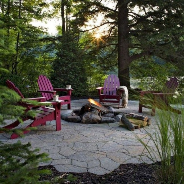 Modern Diy Firepit Ideas For Your Yard This Year 42