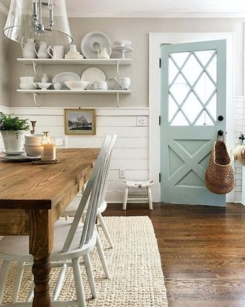 Relaxing Farmhouse Dining Room Design Ideas To Try 25