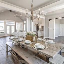 Relaxing Farmhouse Dining Room Design Ideas To Try 29