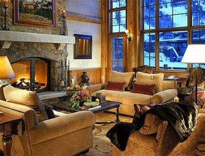Superb Warm Family Room Design Ideas For This Winter 22